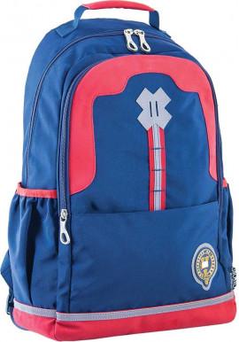 Фото Синий красивый подростковый рюкзак для мальчика серии Oxford YES OX 335