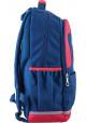 Синий красивый подростковый рюкзак для мальчика серии Oxford YES OX 335, фото №2 - интернет магазин stunner.com.ua