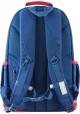 Синий красивый подростковый рюкзак для мальчика серии Oxford YES OX 335, фото №3 - интернет магазин stunner.com.ua