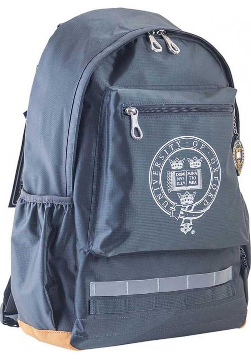 Серый подростковый рюкзак для мальчика серии Oxford YES OX 75