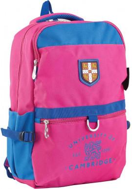 Фото Розовый подростковый рюкзак для девочки серии Cambridge YES CA 070