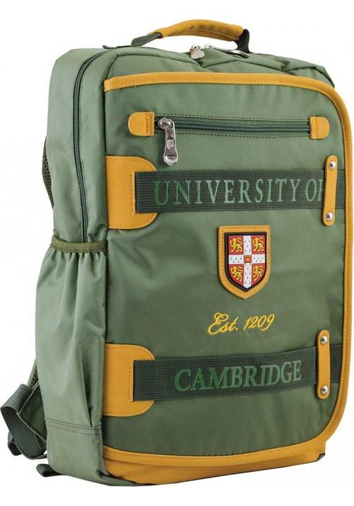 Зеленый подростковый рюкзак серии Cambridge YES CA 076