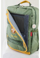 Зеленый подростковый рюкзак серии Cambridge YES CA 076, фото №9 - интернет магазин stunner.com.ua