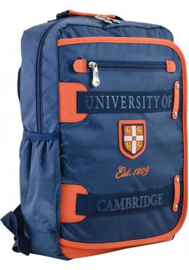 Фото Синий подростковый рюкзак для мальчика серии Cambridge YES CA 076