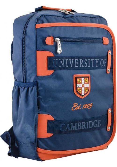 Синий подростковый рюкзак для мальчика серии Cambridge YES CA 076