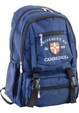 Фото Синий подростковый рюкзак для подростка серии Cambridge YES CA 079