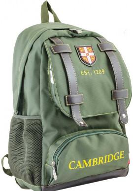 Фото Зеленый подростковый рюкзак для подростка серии Cambridge YES CA 080