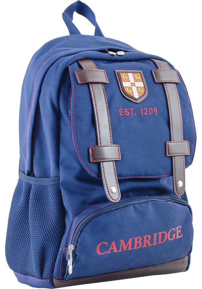 Синий подростковый рюкзак для подростка серии Cambridge YES CA 080