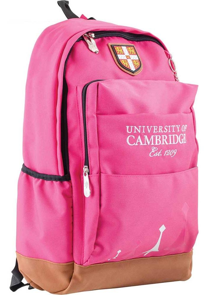 Розовый подростковый рюкзак для девочки серии Cambridge YES CA 083