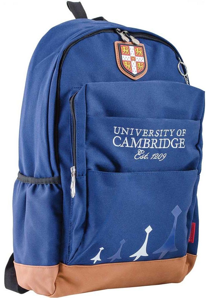 Синий подростковый рюкзак для мальчика серии Cambridge YES CA 083