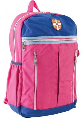 Фото Розовый подростковый рюкзак для девочки серии Cambridge YES CA 095