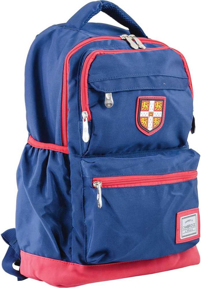Синий подростковый рюкзак для мальчика серии Cambridge YES CA 097