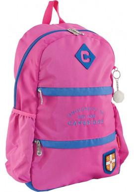 Фото Розовый подростковый рюкзак для девочки серии Cambridge YES CA 102