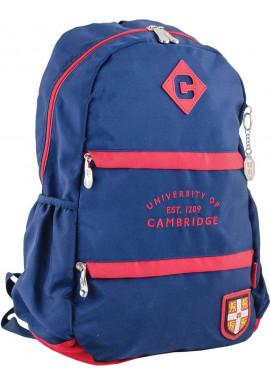 Фото Синий подростковый рюкзак для мальчика серии Cambridge YES CA 102