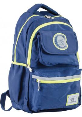 Фото Синий подростковый рюкзак для мальчика серии Cambridge YES CA 104