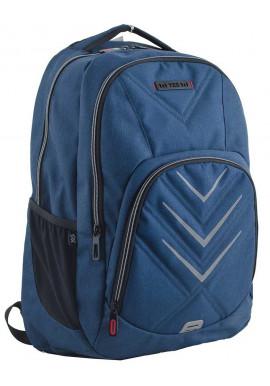 Фото Синий подростковый рюкзак для мальчика T-35 Finn