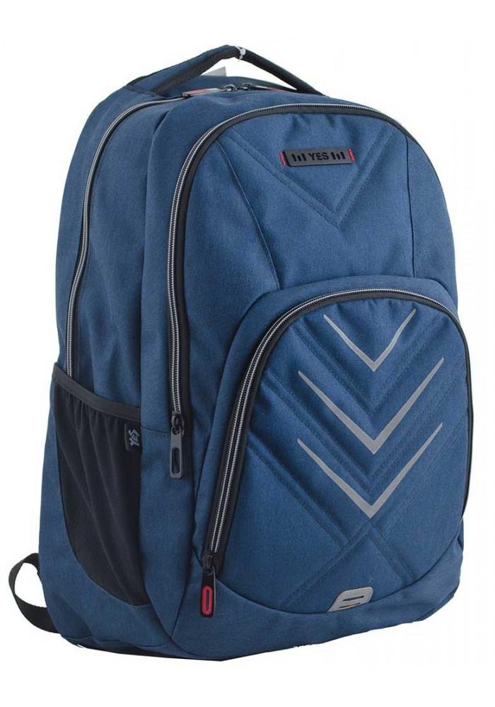 Синий подростковый рюкзак для мальчика T-35 Finn