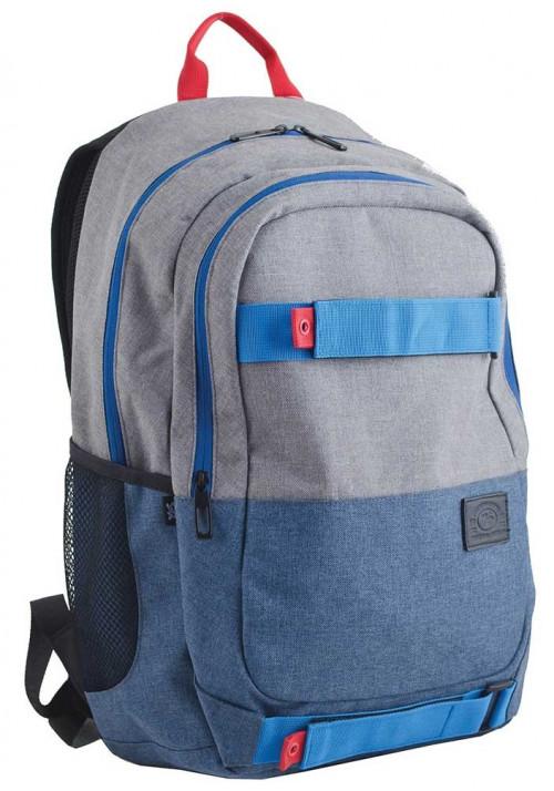 Серо-синий подростковый рюкзак для мальчика  T-35 Norman