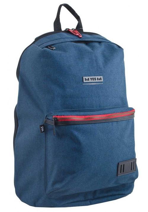 Синий подростковый рюкзак T-35 Oliver