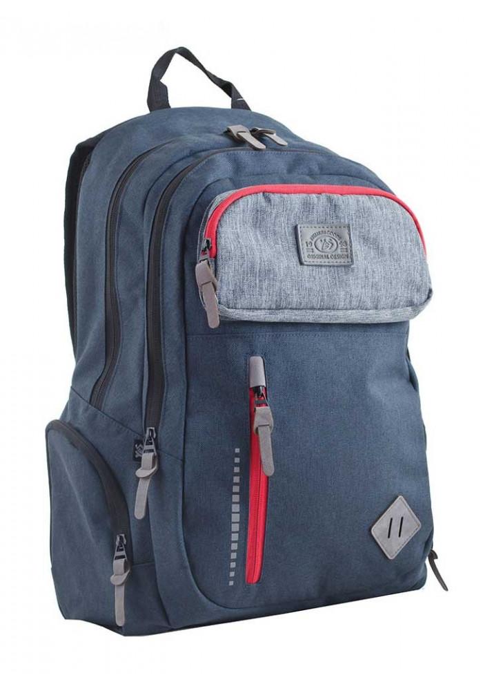 Фото Синий подростковый рюкзак T-35 Rick