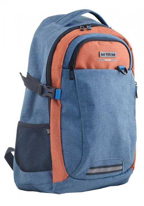 Голубой подростковый рюкзак T-35 Sid