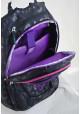 Черный подростковый рюкзак с бабочками T -27 3 Butterfly