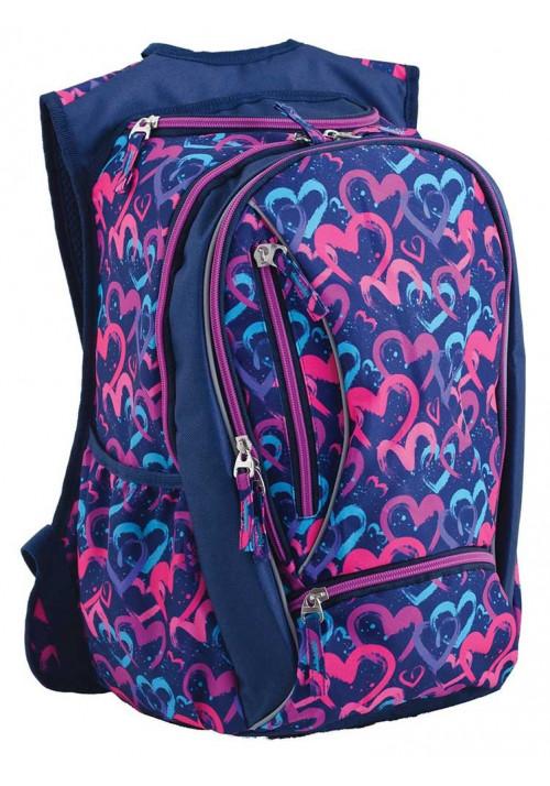 Фиолетовый подростковый рюкзак T -28 Love