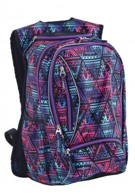 Фото Фиолетовый подростковый рюкзак с орнаментом T -28 Magnet