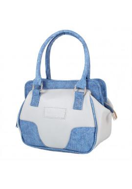 Фото Женская сумочка LASKARA LK-10247-grey-denim