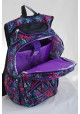Фиолетовый подростковый рюкзак с орнаментом T -28 Magnet