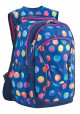 Синий рюкзак для подростка с шариками T -28 Ball - интернет магазин stunner.com.ua