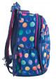 Синий рюкзак для подростка с шариками T -28 Ball, фото №2 - интернет магазин stunner.com.ua