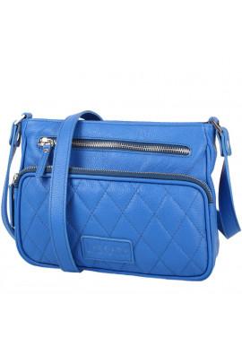 Фото Женская кожаная сумка LASKARA LK-DS256-blue