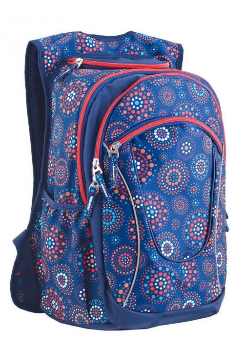 Синий рюкзак для подростка T -29 Romantic