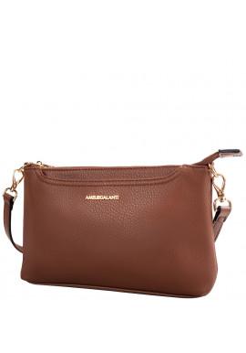 Фото Женская сумка-клатч Amelie Galanti A991457-dark-brown