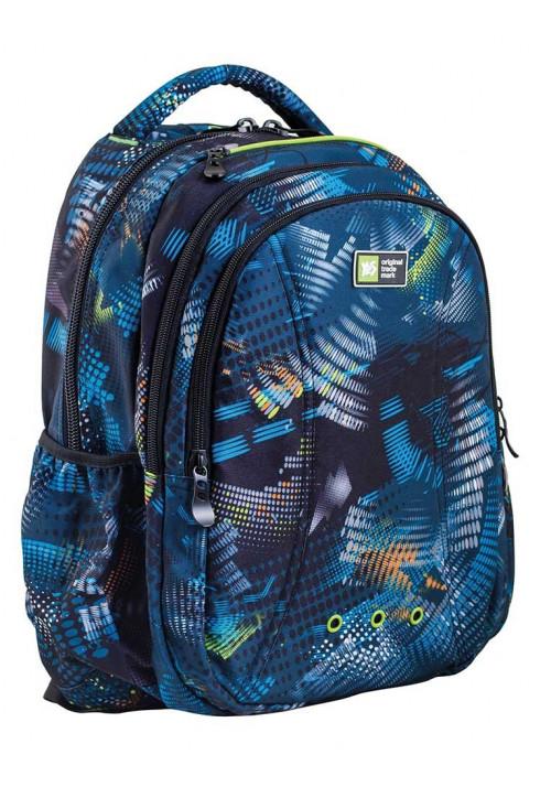 Оригинальный синий рюкзак для мальчика T-31 Clark