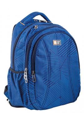 Фото Синий рюкзак для подростка в полоску T -31 Lori
