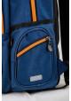 Синий рюкзак для подростка с машиной T -31 Mark