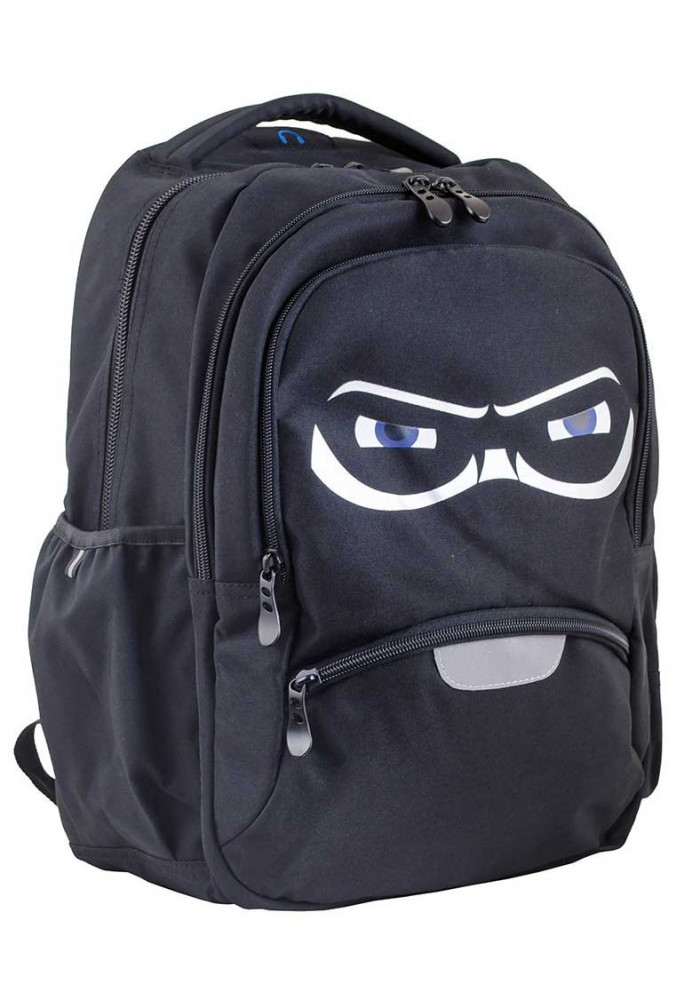 Черный рюкзак для подростка ниндзя T -31 Mask