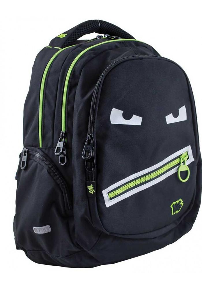 Черный городской рюкзак Т-22 Angry face