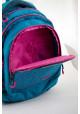Голубой подростковый рюкзак для девочки Т-22 Mint hearts, фото №9 - интернет магазин stunner.com.ua