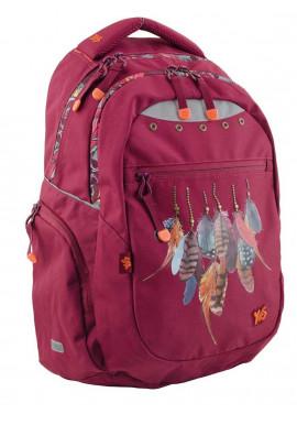 Фото Бордовый подростковый рюкзак Т-22 Dream catcher