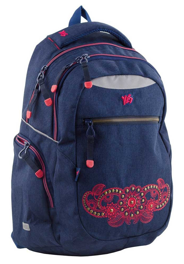 Синий подростковый рюкзак Т-23 Jeans