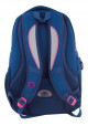 Синий подростковый рюкзак для девочки с сердцем Т-23 Shining heart