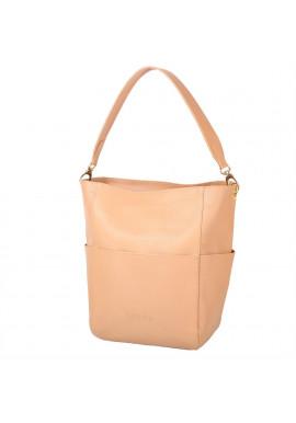 Фото Женская кожаная сумка LASKARA LK-DS266-honey
