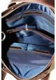 Коричневая мужская кожаная сумка Vatto Mk6, фото №4 - интернет магазин stunner.com.ua
