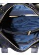 Синяя мужская кожаная сумка с рыжими вставками Vatto Mk6, фото №10 - интернет магазин stunner.com.ua