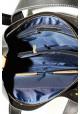 Черная матовая кожаная мужская сумка с рыжими вставками Vatto Mk6, фото №6 - интернет магазин stunner.com.ua