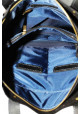Черная матовая кожаная мужская сумка Vatto Mk6