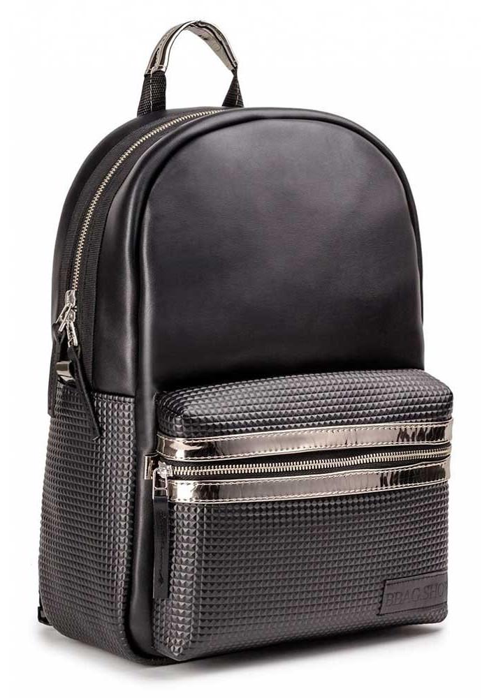 """Черный городской рюкзак """"PIXEL"""" BLACK"""